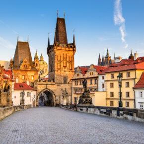 Prag im Sommer: 2 Tage am Wochenende im guten 4* Hotel nur 20€