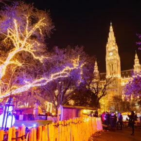 Weihnachtsstimmung in Wien: 3 Tage übers WE im zentralen Hotel inkl. Flug und Frühstück nur 85€