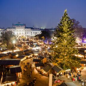Wiener Weihnachtsmarkt: 3 Tage im 4* Hotel mit Hin- & Rückflug nur 64€