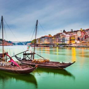 Langes Wochenende in Porto: 4 Tage Portugal mit zentraler Unterkunft & Flug nur 80€