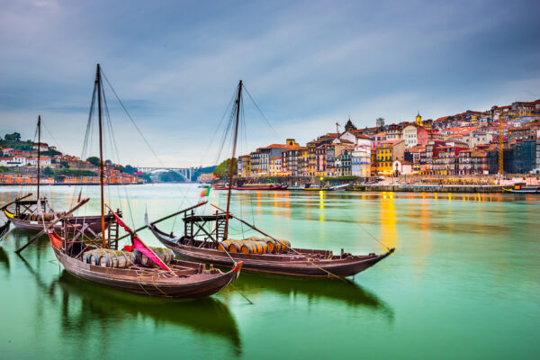 Portugal Porto Altstadt Douro River