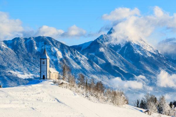 Slowenien Jamnik St Primo Kirche