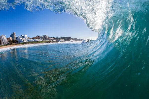 Südafrika Ballito Bay Welle