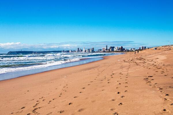 Südafrika Durban Strandpromenade