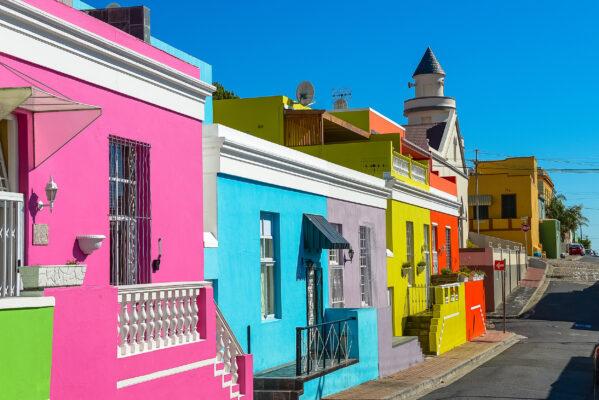 Südafrika Kapstadt Bo Kaap