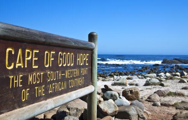 Südafrika Kapstadt Kap der guten Hoffnung