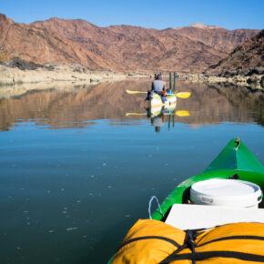 Südafrika Orange River Kanu