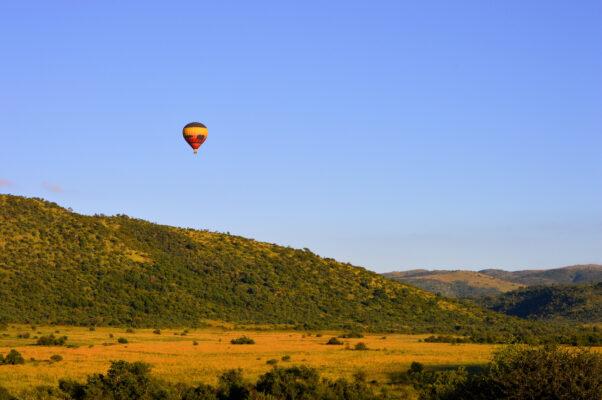 Südafrika Pilanesberg Ballon