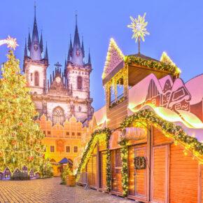 Weihnachtliche Vorfreude! Weihnachtsmarkt in Prag: 2 Tage im zentralen 4* Hotel nur 19€