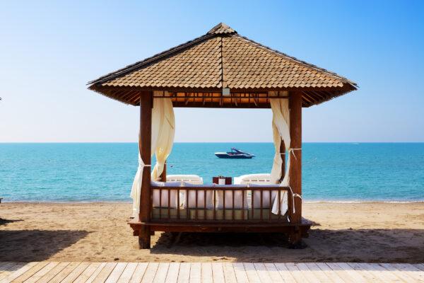 Türkei Antalya Strand Häuschen