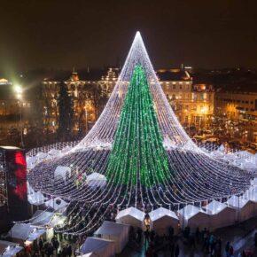 Winter in Litauen: 4 Tage übers WE in Vilnius im 4* Hotel inklusive Frühstück & Flug nur 152€