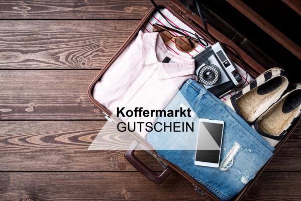Koffermarkt Gutschein