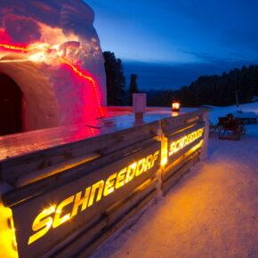 Einzigartiger Trip nach Österreich: 2 Tage im coolen Igludorf inkl. Halbpension & Fackelwanderung ab 126€
