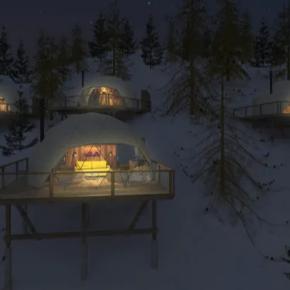 Neueröffnung: 2 Tage Glamping in den französischen Alpen im 5* Designer-Kokon inkl. Halbpension ab 134€