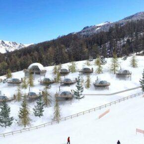 Skiurlaub: 4 Tage 5* Glamping in den französischen Alpen inkl. Frühstück & Skipass ab 339€