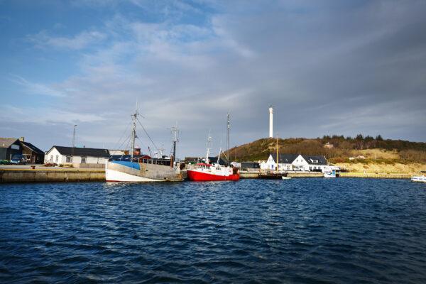 Dänemark Anholt Hafen