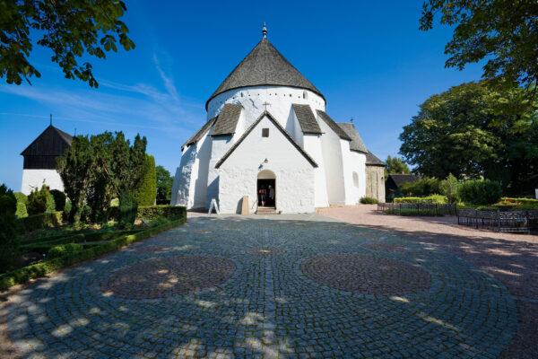 Dänemark Bornholm Osterlars Kirche