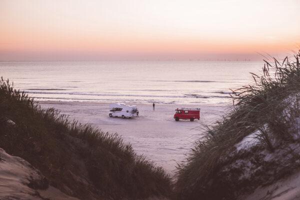 Dänemark Camping Strand