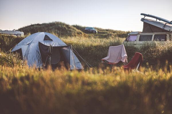 Dänemark Camping Zelten
