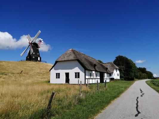 Dänemark Langeland Windmühle