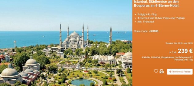 5 Tage Istanbul