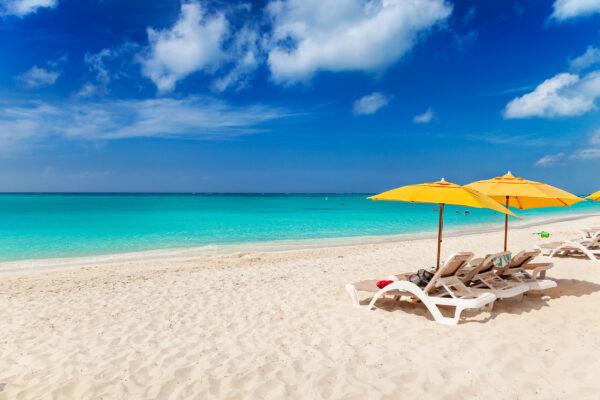 Karibik Turks Caicos Grace Bay Strand