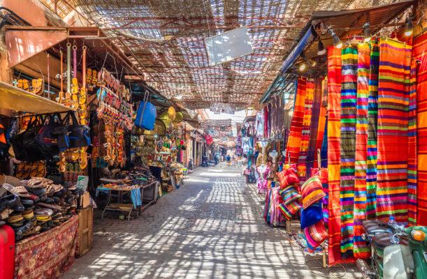Marokko Marrakesch Markt
