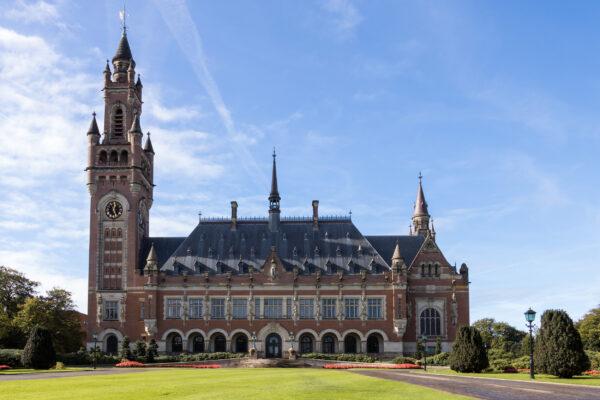 Niederlande Den Haag Friedenspalast