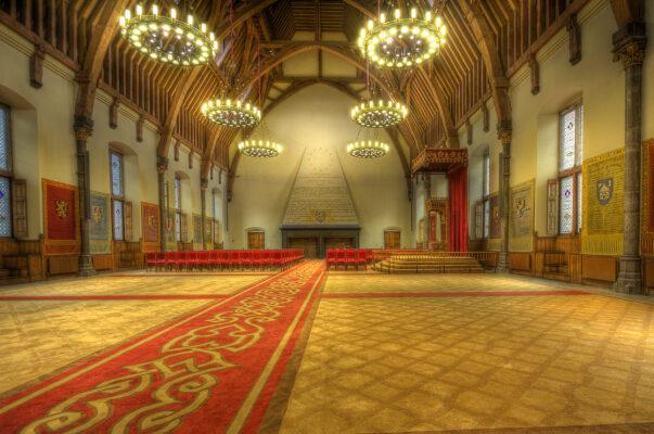 Niederlande Den Haaag Rittersaal