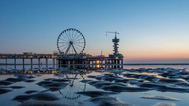 Niederlande Den Haag Scheveningen Riesenrad