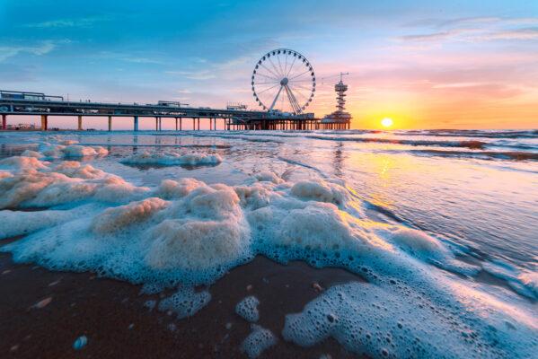 Niederlande Den Haag Scheveningen Strand