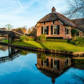 Märchenwelt: 2 Tage am Wochenende nahe Giethoorn in den Niederlanden im 3* Hotel nur 35€