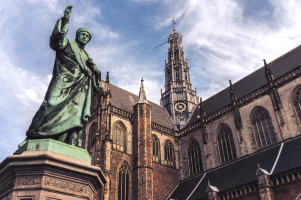 Niederlande Haarlem Bavokerk