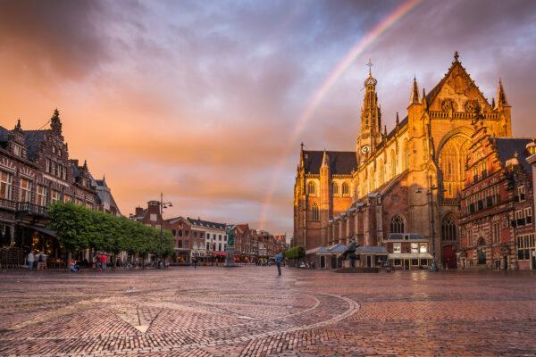 Niederlande Haarlem Grote Markt