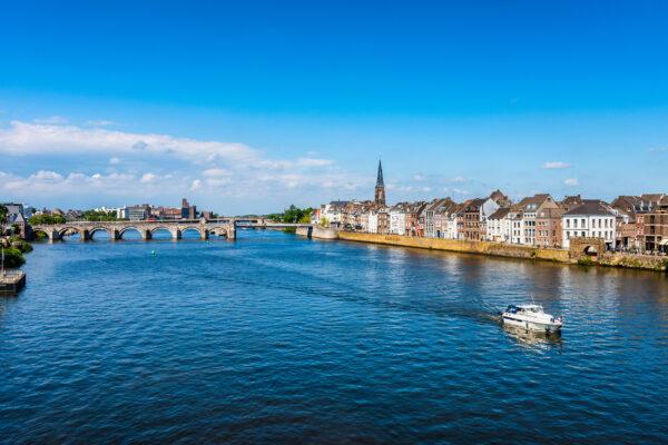 Niederlande Maastricht Maas