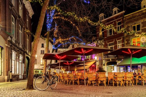 Niederlande Maastricht Restaurants Stühle