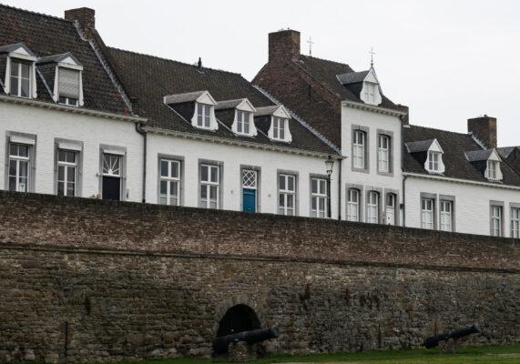 Niederlande Maastricht Stadtmauer