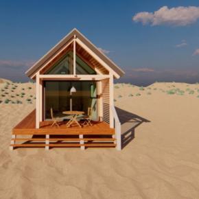 Niederlande Room Beach House Front