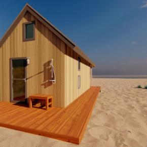 Niederlande Roompot Beach House Rück