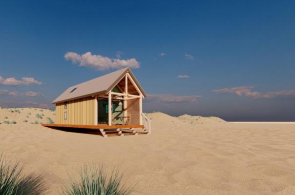 Niederlande Roompot Beach House von weitem