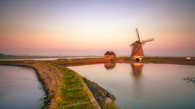 niederlande texel oosterend windmühle
