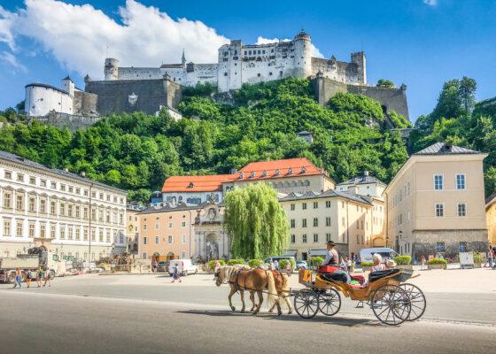Österreich Salzburg Altstadt