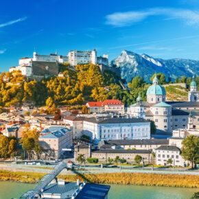 Wellness-Kurztrip nach Österreich: 2 Tage Salzburg mit TOP 3* Hotel, Frühstück & Therme ab 59€