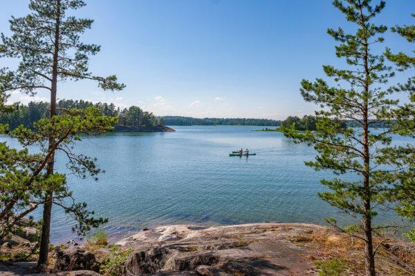 Schweden Aengsoe Nationalpark