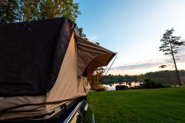 Schweden Camping Dachzelt