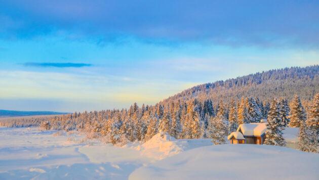 Schweden schwedisch Lappland Kiruna
