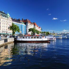 Schweden Stockholm Bootstour
