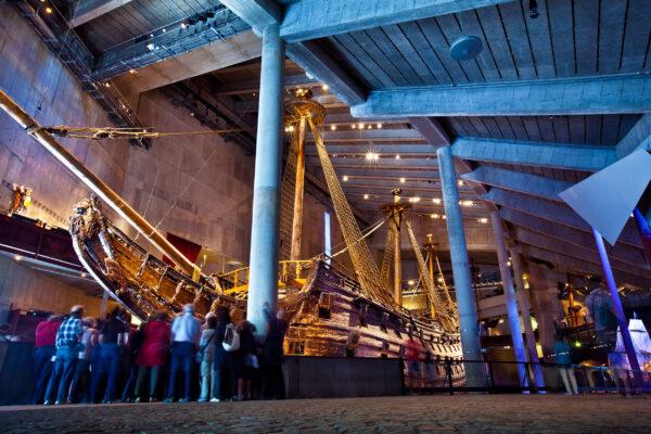 Schweden Stockholm Vasa Museum