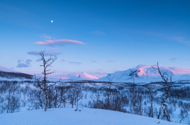 Schweden Stora Sjoefaellet Nationalpark