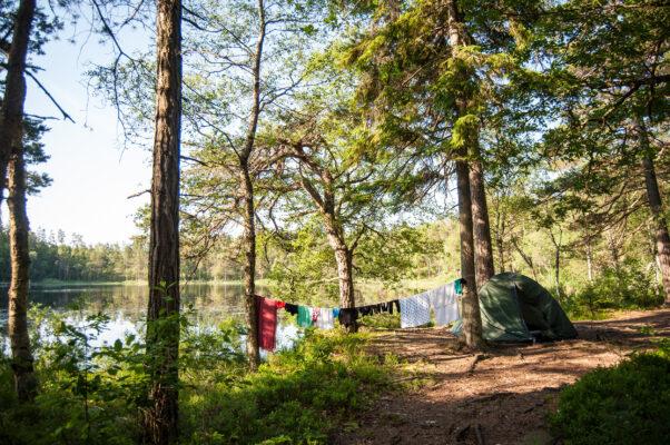 Schweden Wildcampen